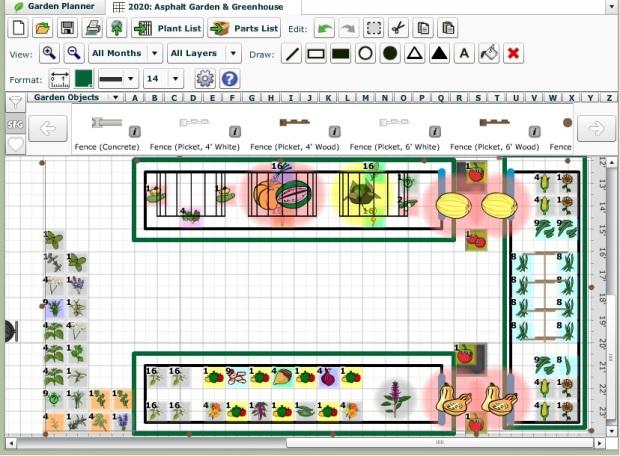2020 garden plan